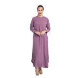 Jual Zada Gamis Syar I Maxi Dress Ungu Zada Branded