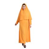 Spesifikasi Zada Karla Gamis Syar I Kuning Mustard Bagus