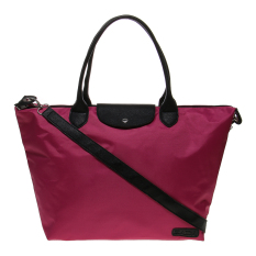 Zada Large Tote Nylon Bag - Fuschia