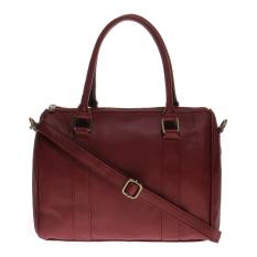 Situs Review Zada Lydia Top Handle Bag Merah
