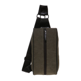 Model Zada Mens Sling Bag Hijau Army Terbaru