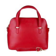 Toko Zada Mini Sling Bag Wanita Cedar Maison Red Lengkap
