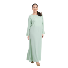 Zada Raya Gamis Maxi Dress - Hijau Pupus