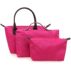Zada Set 3 in 1 Shoulder Bag - Magenta
