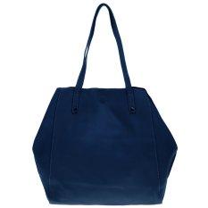 Zada Slouchy Bucket Bag Navy Zada Diskon