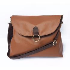Best Seller Zada Tas Backpack // Tas Selempang // Wanita 2 gaya atau style  Isti-Tan/ dark brown / Coklat tua