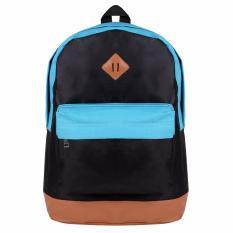 Jual Zada Tas Basic Backpack Pria Black Blue Zada Ori