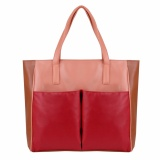 Toko Zada Tas Tote Shopper Wanita Red Online Terpercaya