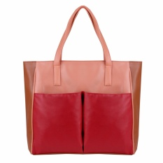 Zada Tas Tote Shopper Wanita Red Terbaru
