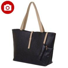 Tips Beli Zada Tote Bag With Mini Pouch Hitam