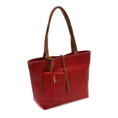 Harga Zada Tote Bag With Mini Pouch Merah Lengkap