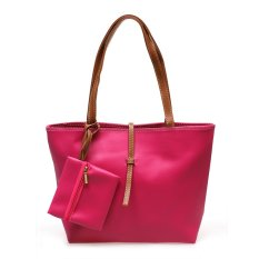 Harga Zada Tote Bag With Mini Pouch Pink New