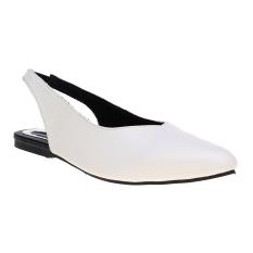 Penawaran Istimewa Zada Viana Sepatu Flat Wanita White Terbaru