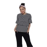 Beli Zada X Ayla Stripes Shirt Stripes Pake Kartu Kredit