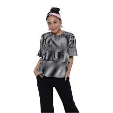 Cara Beli Zada X Ayla Stripes Shirt Stripes
