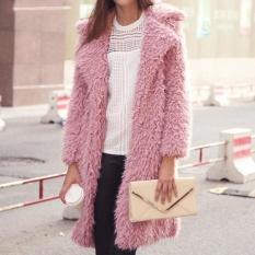 Spesifikasi Zaful Wanita Elegan Faux Fur Coat Wanita Fluffy Hangat Lengan Panjang Wanita Pakaian Luar Chic Musim Gugur Mantel Musim Dingin Jaket Berbulu Mantel Zaful