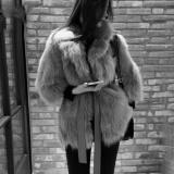 Diskon Zaful Wanita Elegan Faux Fur Lapel Coat Wanita Fluffy Hangat Laki Laki Lengan Panjang Pakaian Luar Chic Musim Gugur Mantel Musim Dingin Jaket Berbulu Belt Mantel Intl Zaful Tiongkok
