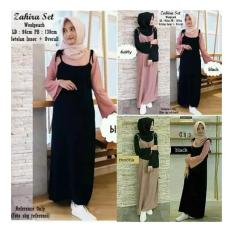 Zahira Set Dress Maxy Cewe Baju Murah Baju Muslim Cewe Overall Cewe Gamis Grosir Murah