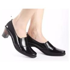 Beli Barang Zahwa Sepatu Wanita Formal Sepatu Kerja Sepatu Pantofel Z025 Hitam Online