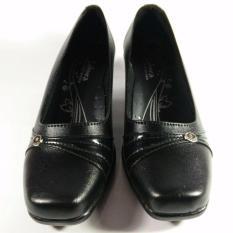 Zahwa Sepatu Wanita Formal / Sepatu Kerja / Sepatu Pantofel V02 Hitam