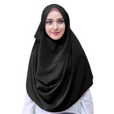 Zaina Syar'i Hijab Kerudung Instan - Black