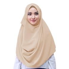 Zaina Syar'i Hijab Kerudung Instan - [Warna Coksu]