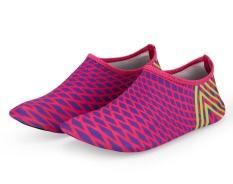 Zaitun Pantai Latihan Fisik Bernapas Anti-slip Sepatu Voli untuk Pria, Berenang Surf Yoga Dive Outdoor Sneaker (Rose)-Intl