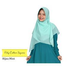 Zannah Hijab Hijab Segiempat Poly cotton Jilbab Segi4 Kirana Square Termurah All Size New Fashion Muslim Daily Hijab Segi Empat Atasan Dress Muslimah Wanita Syari Casual Termurah