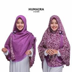 Zannah Hijab Jilbab Bolak Balik Instan Humaira Motif Polos Kerudung Instant Syari Jumbo Khimar Langsung Pakai Atasan Dress Muslim Elegan Jilbab Syari Instan Termurah Paling Laris
