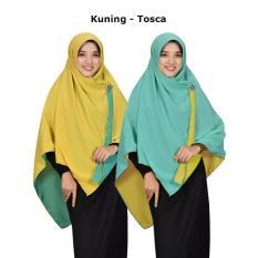 Zannah Hijab Paling Murah Jilbab Segi Empat Bolak Balik Jumbo Khimar Segi4 Syari Kerudung Dua Warna Persegi 2in1 Fashion Muslim Wanita Muslimah Terbaru Modern Model Sekarang Paling Laris Best Seller Harga Grosir