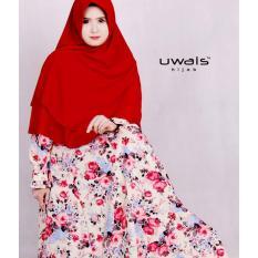 Harga Zanuba Dress By Uwais Hijab Cream Yang Murah Dan Bagus