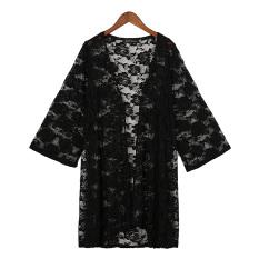 Cara Beli Zanzea 2016 Kardigan Wanita Seksi Panas Musim Yang Elegan Renda Bordir Kimono Dicungkil Pemukiman Blus Kaos Pantai Lebih Baik Tahan Terhadap Dr Blusas Puncak Hitam