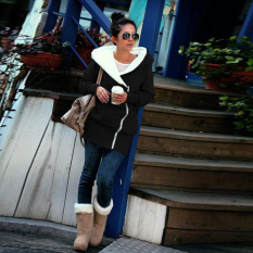 Perbandingan Harga Zanzea Gugur Musim Dingin Fashion Wanita Berkerudung Panjang Sweatshirt Hangat Ritsleting Ngomong Batak Pakaian Jaket Hoodie Jaket Tipis Jalan Pemukiman Ukuran Lebih Cahaya Hitam 45 Internasional Di Tiongkok