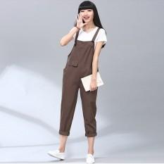"ZANZEA Jalan Raya 2016 Katun Kasual Elegan Celana Oto Baju Monyet Baju Vintage Gugur Ukuran Terusan Wanita Lebih S-5XL Keseluruhan"""