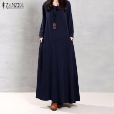 zanzea-women-muslim-autumn-elegant-retro-dress-o-neck-long-sleevepockets-linen-maxi-long-dresses-navy-intl-5293-61975793-9c289abae6176468d31695a287eb7771-catalog_233 Kumpulan Harga Model Dress Muslim Elegan Teranyar tahun ini
