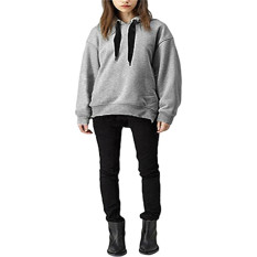Beli Zanzea Wanita Katun Hoodie Sweater Longgar Zanzea Dengan Harga Terjangkau