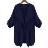 Harga Zanzea Melipat Lengan Baju Yang Panjang And Longgar Children Pakaian Kasual Cardigan Terbaru