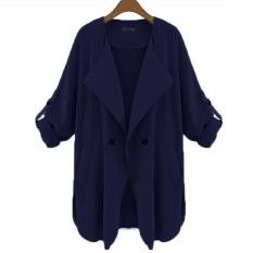 Spesifikasi Zanzea Melipat Lengan Baju Yang Panjang And Longgar Children Pakaian Kasual Cardigan Yang Bagus Dan Murah