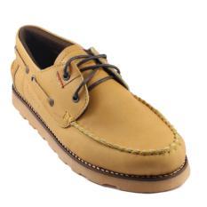 Zapato Sepatu Boots Kulit Sepatu Pria Dan Wanita Bradleys Zapato Kulit Asli (Tan)