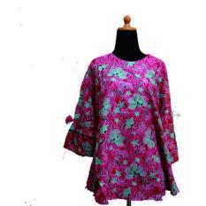 Zarra Batik Couple Keluarga Baju Batik Wanita Lengan Panjang Multiwarna