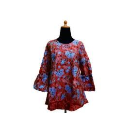 Zarra Batik Bali Baju Batik Wanita Lengan Panjang Multiwarna