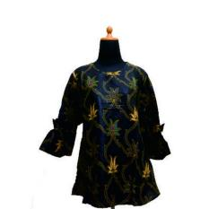 Zarra Batik Keris Baju Batik Wanita Lengan Panjang Multiwarna