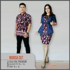 Zaviera - Baju Pesta Batik Kondangan Couple Marisa Set
