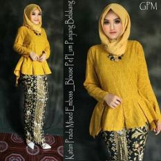 Zaviera - Rok dan Blus Batik Prodo GPM - Kebaya Wisuda - Dress Murah