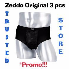 Review Zeddo Far Infrared Underwear Terapi Kesehatan Pria Isi 3 Pcs