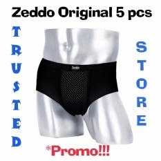 Cuci Gudang Zeddo Far Infrared Underwear Terapi Kesehatan Pria Isi 5 Pcs