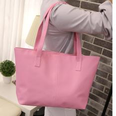 Jual Zeebee Jasmine Simple Tote Bag Tas Bahu Shoulder Bag Tas Fashion Wanita Pink Zeebee Original