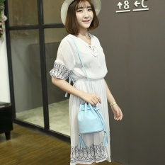Beli Zeebee Mini Bucket Bag Tas Selempang Wanita Tas Fashion Wanita Green Mint Murah Di Banten