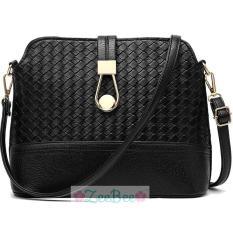 Spesifikasi Zeebee Premium Metal Button Sling Bag Tas Selempang Wanita Zeebee Terbaru