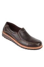 Zeintin Ks 7488 Sepatu Kulit Pria Exlusive Coklat Zeintin Diskon 50